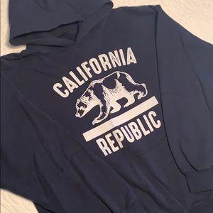 Like NEW Bowery CALIFORNIA REPUBLIC Hoodie Sz L